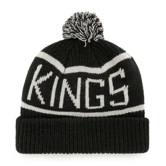 47 Brand Los Angeles Kings Beanie Calgary schwarz