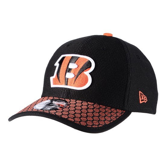New Era Cincinnati Bengals Cap Sideline 39Thirty Dots schwarz/orange