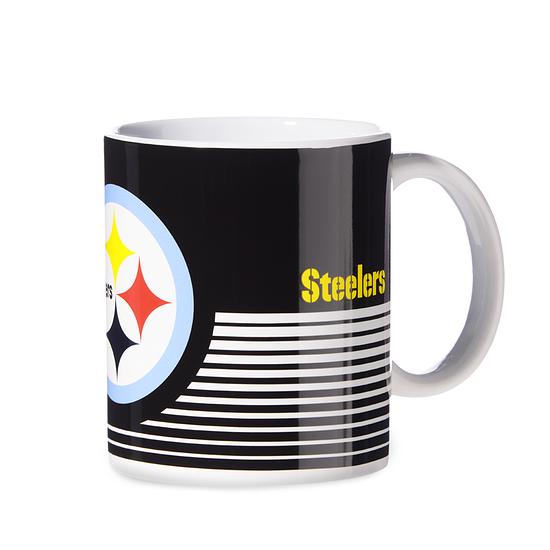 Forever Collectibles Pittsburgh Steelers Tasse schwarz