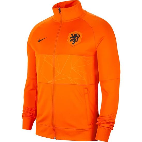 Nike Holland Track Jacket EM 2021 Orange