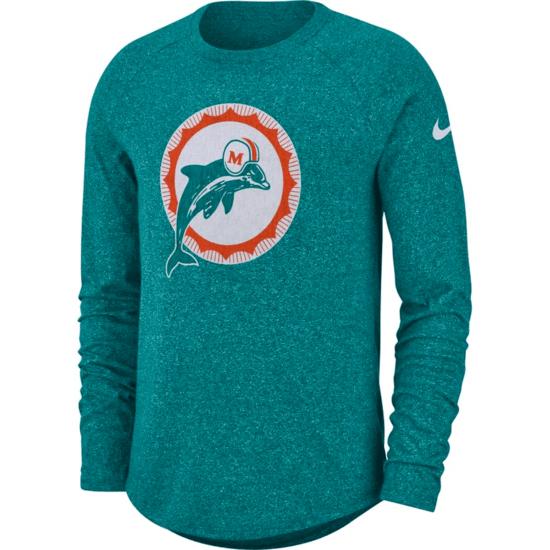 Nike Miami Dolphins Longsleeve Shirt HISTORIC 2019/2020 Grün