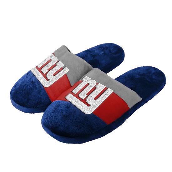 Forever Collectibles New York Giants Hausschuhe Colourblock blau/rot/grau