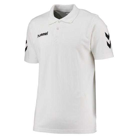 hummel Poloshirt Core Cotton weiß