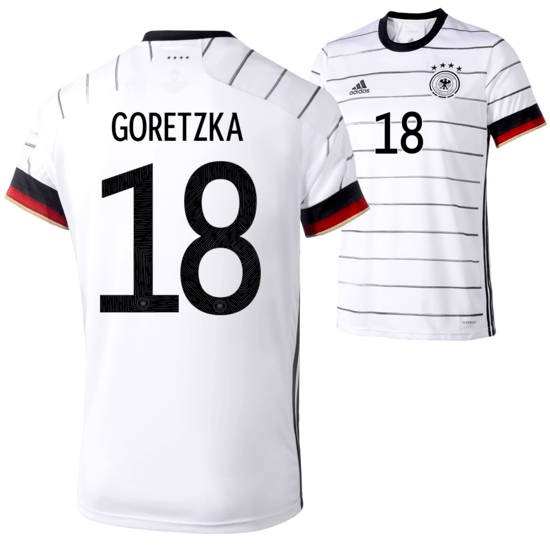 Adidas Deutschland EM 2021 DFB Trikot Heim GORETZKA