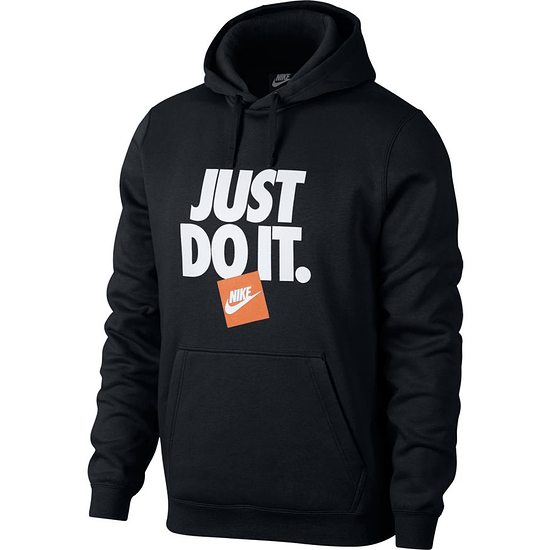 Nike Hoodie JDI Print Schwarz