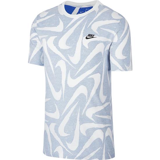 Nike T-Shirt SWOOSH Div. Hellblau