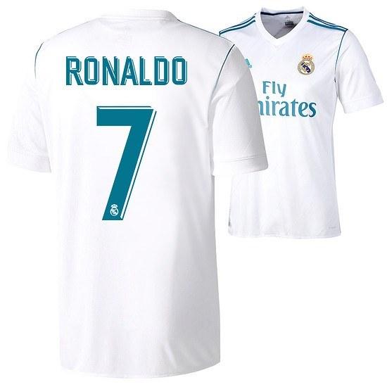 Adidas Real Madrid Trikot RONALDO 2017/2018 Heim Kinder