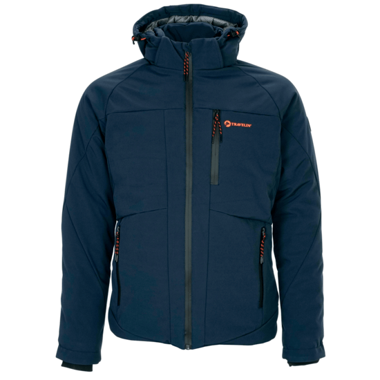 TRAVELIN OUTDOOR Winterjacke Husavik navy