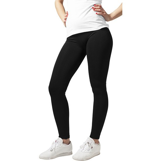 URBAN CLASSICS Leggings PA Damen Schwarz