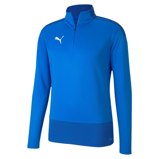 Puma Training Top 1/4 Zip GOAL 23 Blau