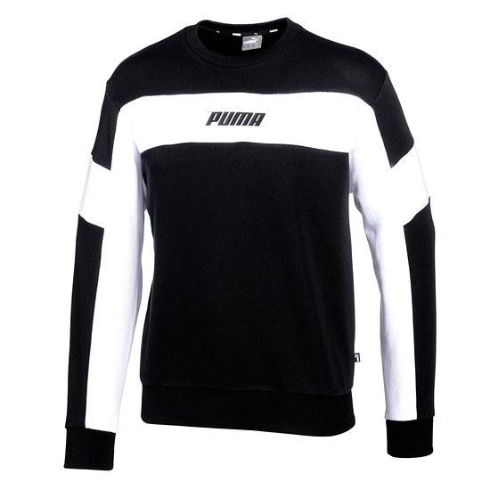 Puma Sweatshirt Rebel TR Schwarz