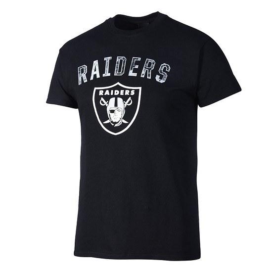 Majestic Athletic Oakland Raiders T-Shirt Bradler schwarz