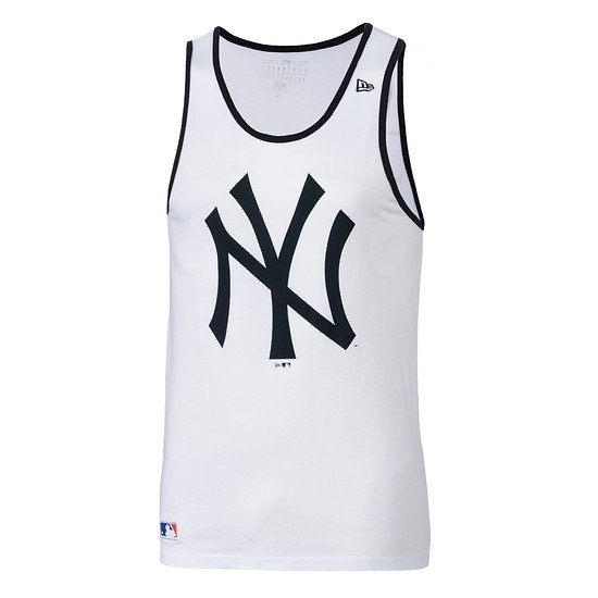 New Era New York Yankees Tanktop Team Logo weiß