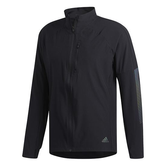 Adidas Rise Up N Run Jacke Laufjacke Schwarz