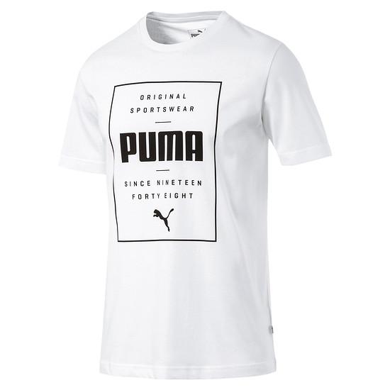 Puma T-Shirt Box Weiß