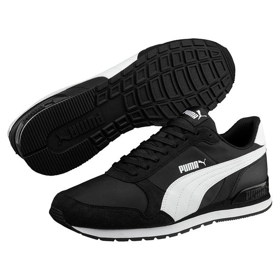 Puma Sneaker Runner Schwarz/Weiß