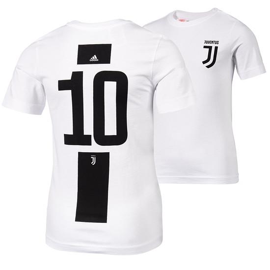 Adidas Juventus Turin T-Shirt 10 (Dybala) Logo
