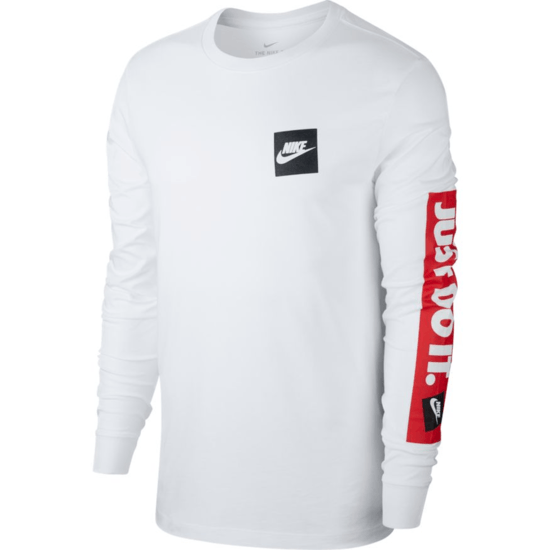 Nike Longsleeve JUST DO IT Weiß