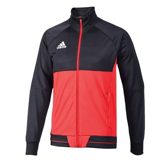 Adidas Trainingsjacke Tiro Kinder Schwarz/Rot