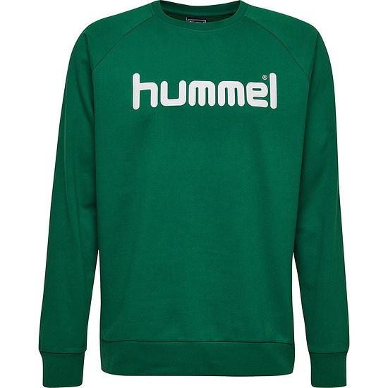 hummel Sweatshirt Go Cotton Logo grün