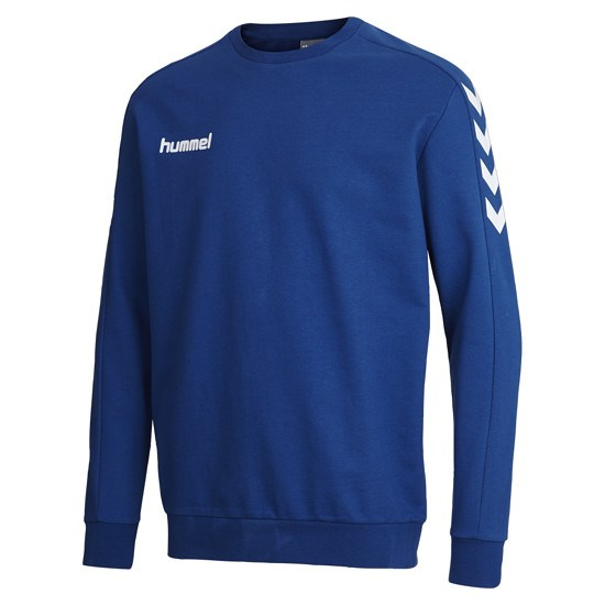hummel Sweatshirt Core Cotton blau