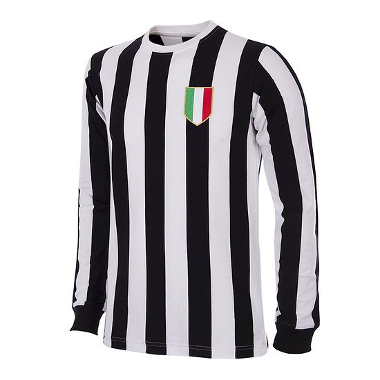 Copa Juventus Turin 1951/52 Long Sleeve Retro Shirt