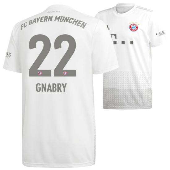 Adidas FC Bayern München Auswärts Trikot GNABRY 2019/2020