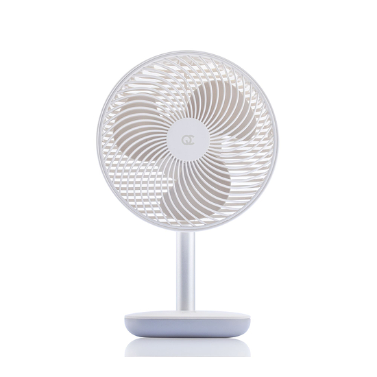 FlinQ Akku-Ventilator weiß