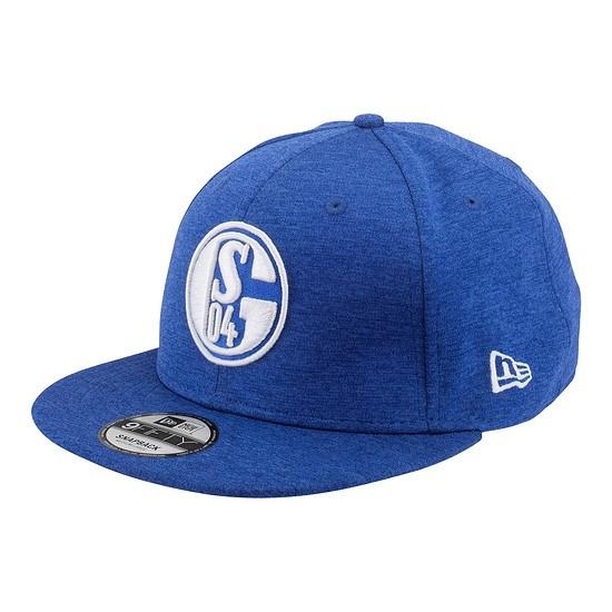 FC Schalke 04 Cap Snap S04 Logo Blau