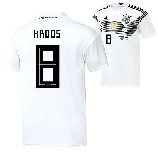 Adidas Deutschland WM 2018 DFB Trikot Heim KROOS