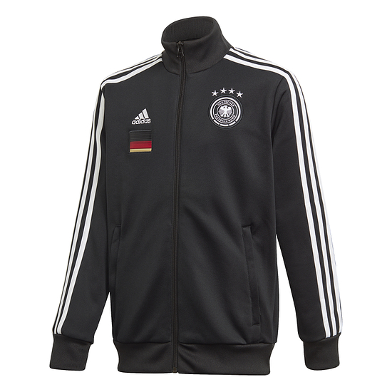 Adidas Deutschland DFB Trainingsjacke EM 2021 Kinder Schwarz