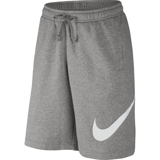 Nike Shorts Sportswear Swoosh Grau