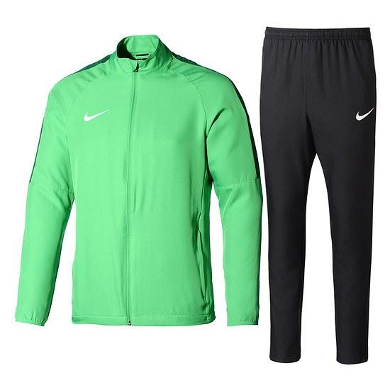 Nike Trainingsanzug Academy 18 Grün/Schwarz