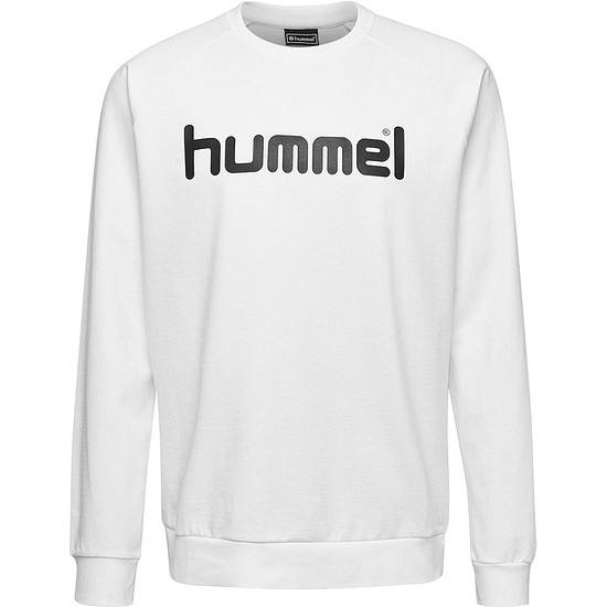 hummel Sweatshirt Cotton Logo weiß
