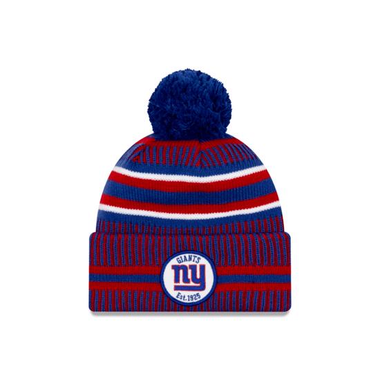 New Era New York Giants Beanie On Field Sport Knit HM blau