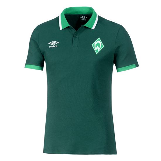 Umbro SV Werder Bremen Polo Shirt 2019/2020 Grün