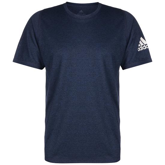 Adidas T-Shirt Fitness Blau