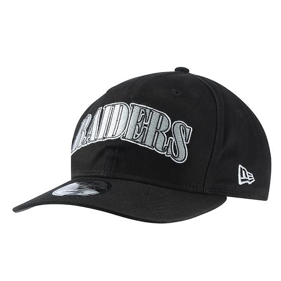 New Era Las Vegas Raiders Cap Pre Curved 9FIFTY schwarz