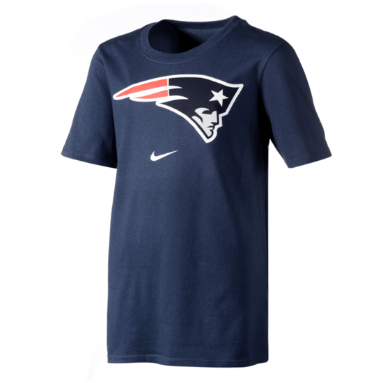 Nike New England Patriots T-Shirt DFCT Essential Kinder blau