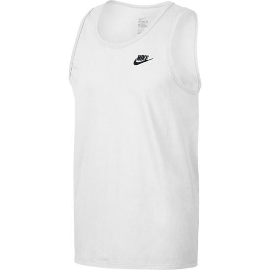 Nike Tanktop Club Futura Weiß