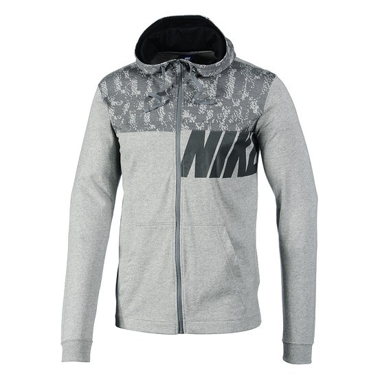 Nike Kapuzenjacke Crew Sportswear Grau
