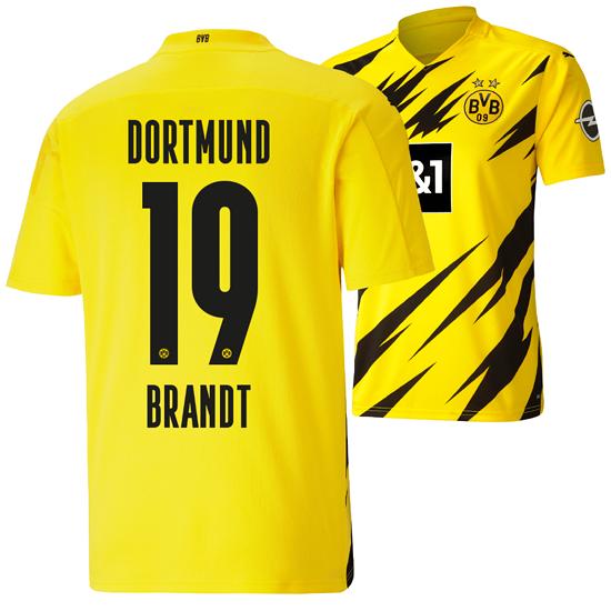 Puma Borussia Dortmund Heim Trikot BRANDT 2020/2021 Kinder