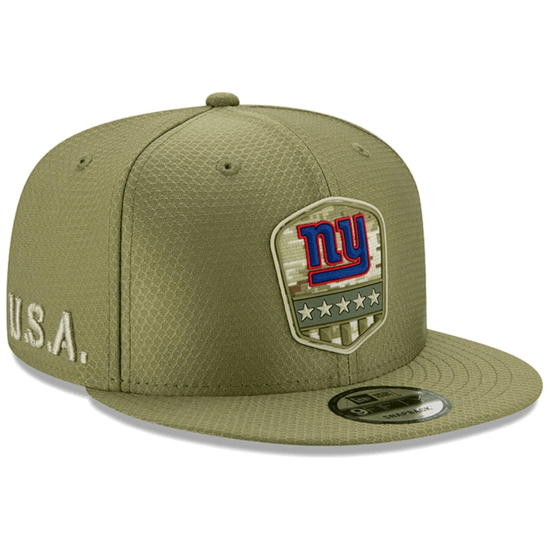 New Era New York Giants Cap Salute To Service 9FIFTY oliv