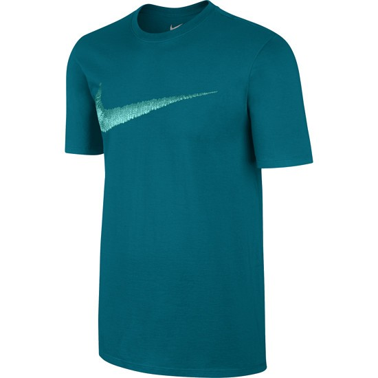 Nike Swoosh T-Shirt Turquoise/Grün