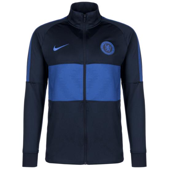 Nike FC Chelsea Trainingsjacke Dry Strike dunkelblau/blau