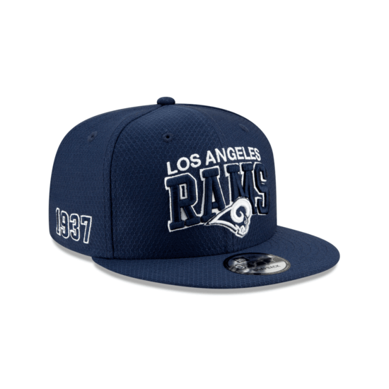 New Era Los Angeles Rams Cap Sideline 9FIFTY schwarz