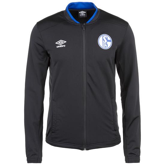 Umbro FC Schalke 04 Trainingsjacke Sprint Schwarz
