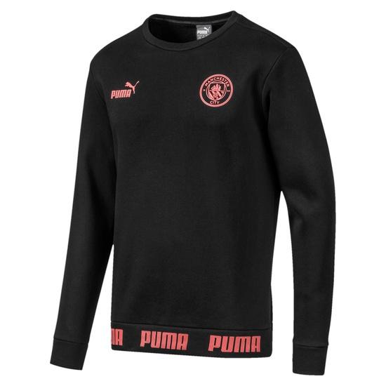 Puma Manchester City Sweatshirt FtblCulture schwarz/rosa