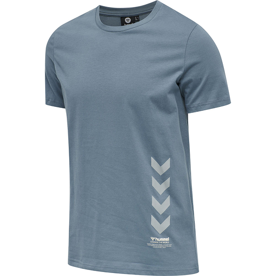 hummel T-Shirt Duncan Bio-Baumwolle china blue