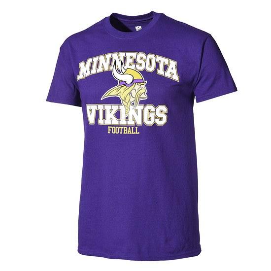 Majestic Athletic Minnesota Vikings T-Shirt Treser lila